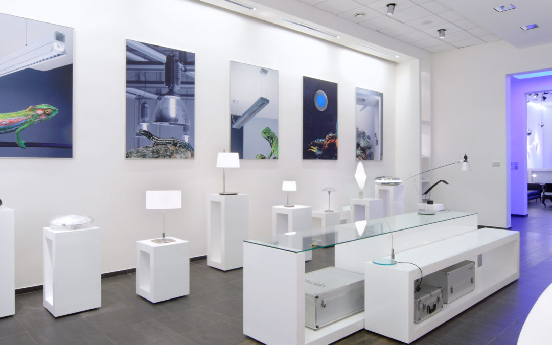 Projekt salonu firmy EMA-EPC