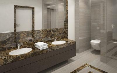 Koncepcje łazienek w rezydencji w Londynie